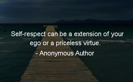 Self-respect-can-be-a-extension-of-your-ego-or-a-priceless-virtue.-Anonymous-Author
